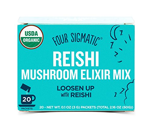 Four Sigma Foods-Organic Mushroom Elixir Mix with Reishi