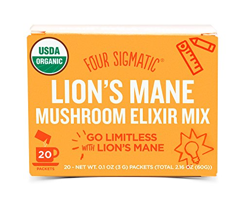 Four Sigma Foods-Organic Mushroom Elixir Mix with Lion's Mane