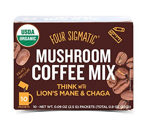 Four Sigma Foods-Mushroom Coffee with Lion's Mane & Chaga