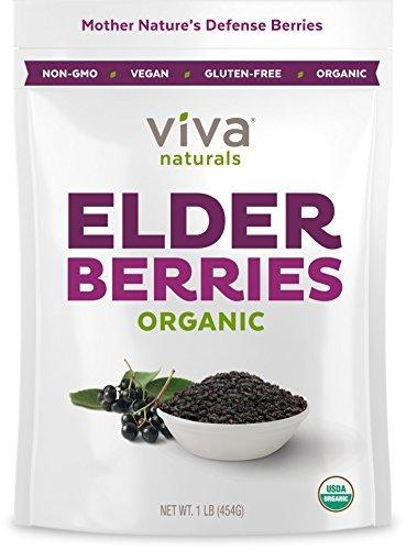 Viva Naturals-Organic Elderberries