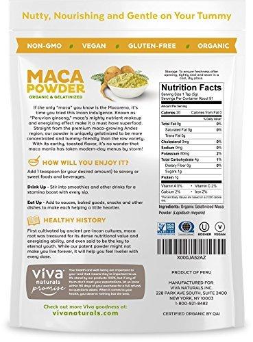 Viva Naturals-Organic Maca Powder