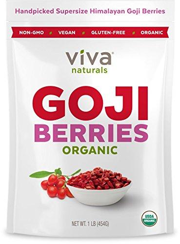 Viva Naturals-Organic Himalayan Goji Berries