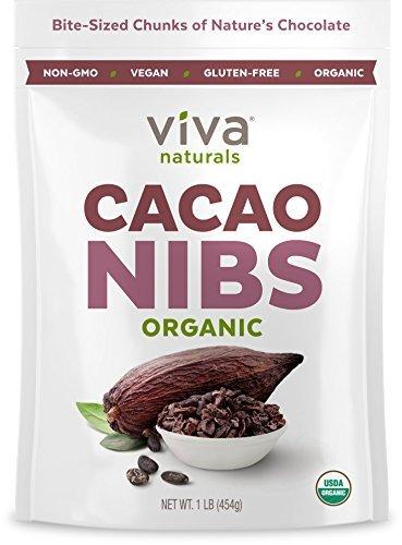 Viva Naturals-Organic Raw Cacao Nibs