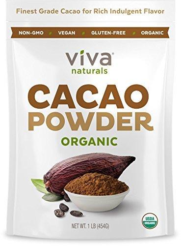 Viva Naturals-Certified Organic Cacao Powder