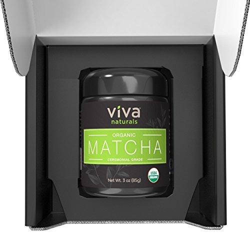 Viva Naturals-Organic Matcha Green Tea Powder