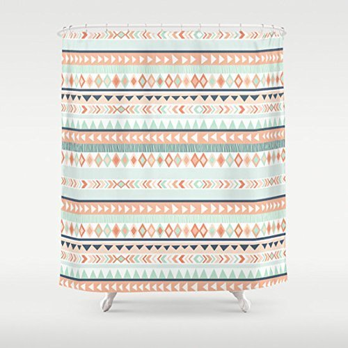 Mallory Lynn Decor-Tribal Pattern Shower Curtain