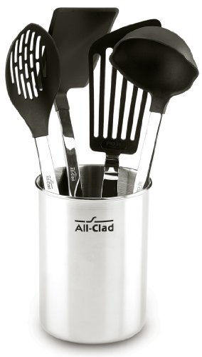 All-Clad-5-Piece Stainless Steel Non-Stick Kitchen Tool Set