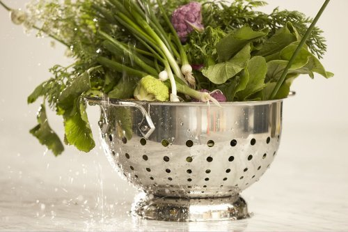 All-Clad-Stainless Steel Dishwasher Safe Colander Kitchen Accessory