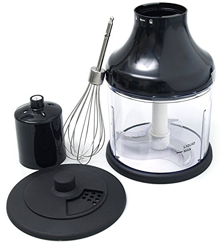 All-Clad-Immersion Blender Mini Chopper and Whisk Attachments