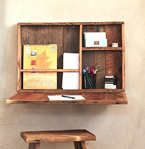 Grindstone Design-Drop Down Secretary Desk - Wall Mounted Desk