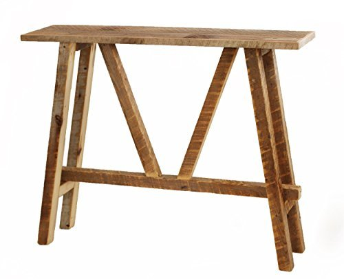 Grindstone Design-Reclaimed wood sofa table console