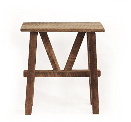 Grindstone Design-Reclaimed Wood End Table