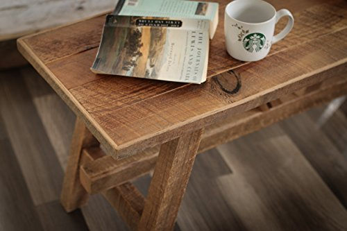Grindstone Design-Scandinavian style reclaimed wood coffee table