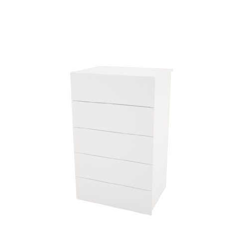 Nexera-5-Drawer Chest from Nexera - White