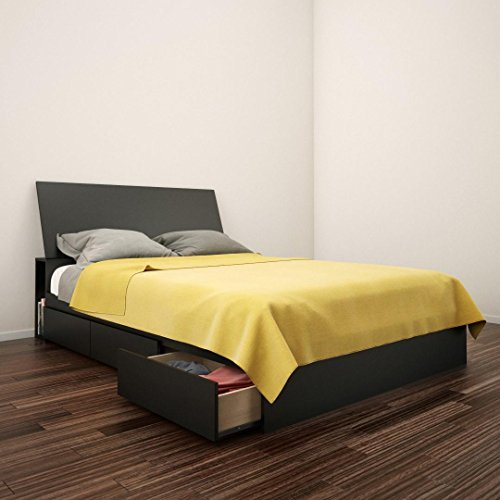 Nexera-Avenue Full Size Storage Bed