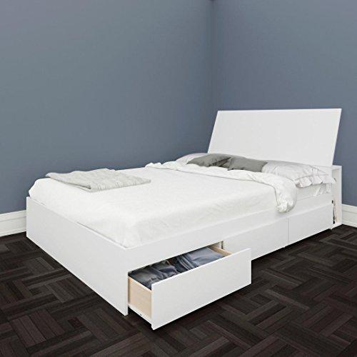 Nexera-Avenue Full Size Storage Bed