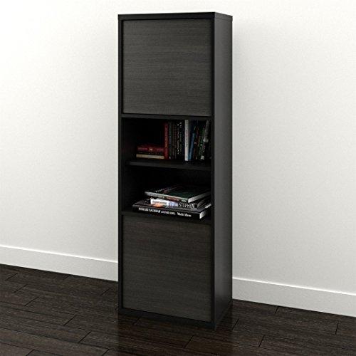 Nexera-2-Door Bookcase