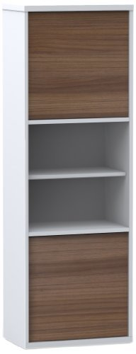 Nexera-2-Door Bookcase