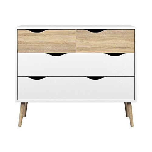 Tvilum-Diana 4 Drawer Chest
