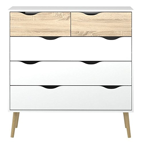 Tvilum-Diana 5 Drawer Chest