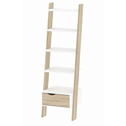 Tvilum-Diana Bookcase with 1 Drawer