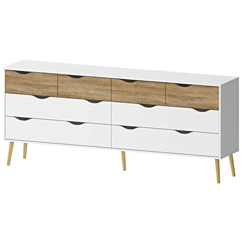 Tvilum-Diana 8 Drawer Dresser
