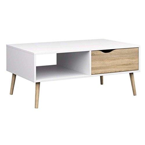 Tvilum-Diana Coffee Table - White Oak