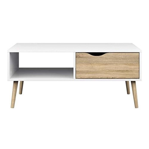 Tvilum-Diana Coffee Table - White Oak