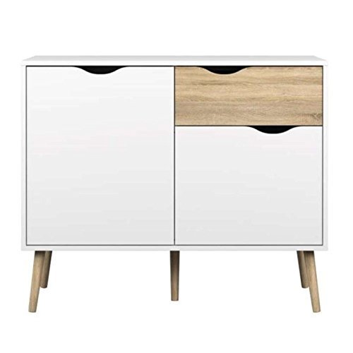 Tvilum-Diana Sideboard with 2 Doors and 1 Drawer
