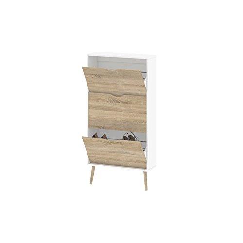 Tvilum-Diana 3 Drawer Shoe Cabinet