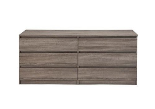 Misc Items-6-Drawer Double Dresser