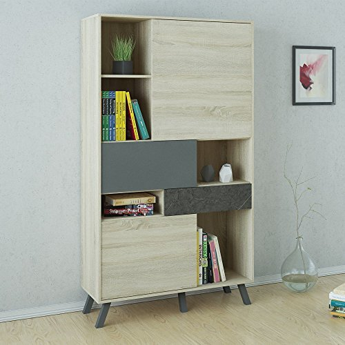 Tvilum-Nashville Decorative Bookcase