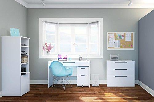 Nexera-3-Drawer Filing Cabinet from Nexera - White