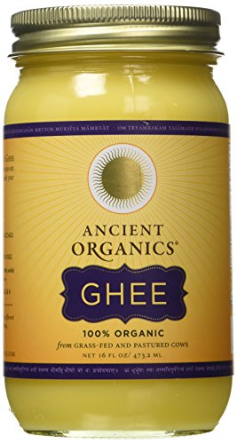 ANCIENT ORGANICS-100% Organic Ghee from Grass-fed Cows