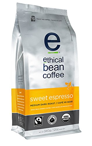 Ethical Bean Coffee-Sweet Espresso Whole Bean