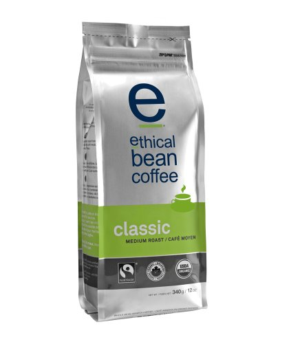 Ethical Bean Coffee-Medium Roast, Whole Bean - 2 pack