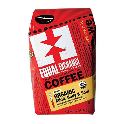 Equal Exchange- Organic Coffee, Mind Body Soul, Ground