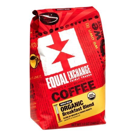 Equal Exchange-Organic Coffee, Breakfast Blend, Ground
