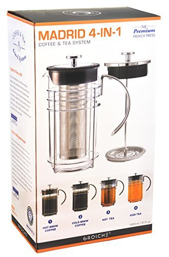 GROSCHE-4-in-1 Hot and Cold Coffee and Tea System