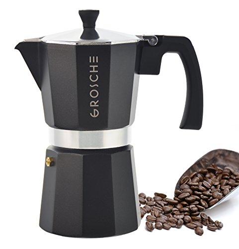 GROSCHE-Milano Moka 6-Cup Stovetop Espresso Coffee Maker
