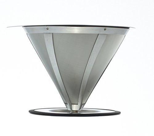 GROSCHE-Ultra Mesh Pour-Over Coffee Dripper with Round Base