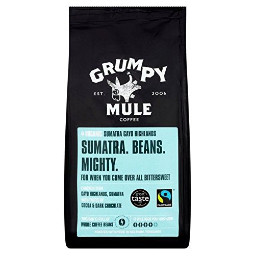 Grumpy Mule-Organic Sumatra Fairtrade Coffee Beans