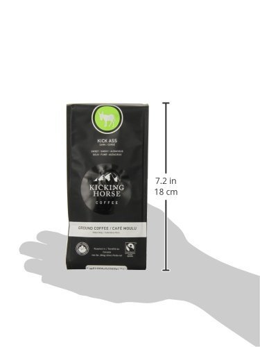 Kicking Horse Coffee-Kicking Horse Ground Coffee 4-Flavor Variety Pack (Pack of 4)