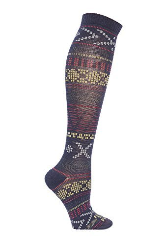 Farm to Feet-Farm to Feet Women's Mahtomedi Ultralight Knee-High Socks, Small, US Blue/Mercury