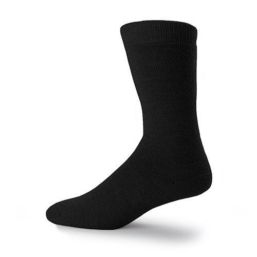 Minus33 Merino Wool-Merino Wool Workhorse Multisport 3/4 Length Sock - Black