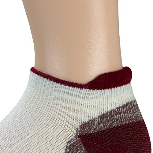 Minus33 Merino Wool-Merino Wool Light Trek Runner Sock - Wild Orchid