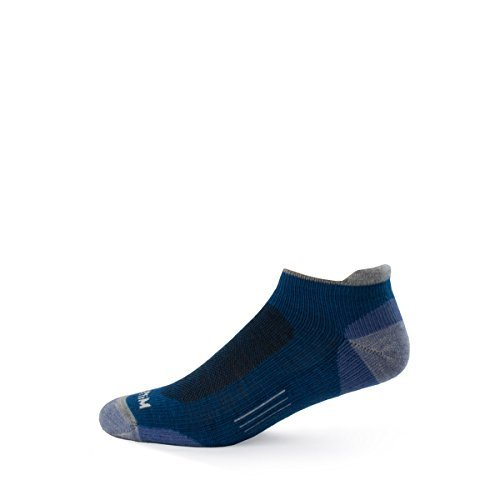 Minus33 Merino Wool-Merino Wool Light Trek Runner Sock - Wild Orchid
