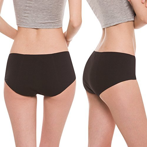 Hesta-Organic Cotton Period Menstrual Underwear - 3 Pack