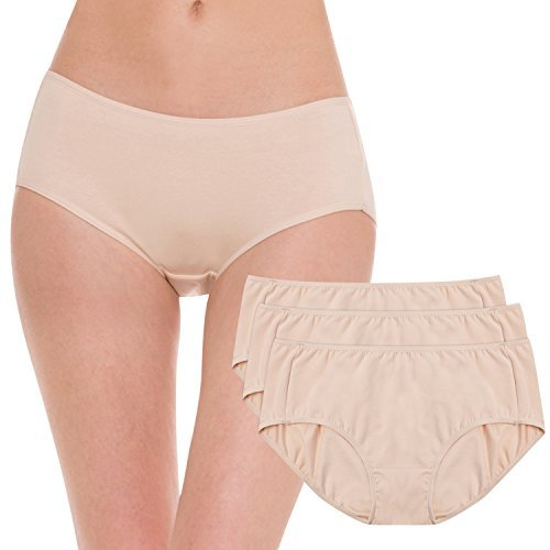 Hesta-Organic Cotton Period Menstrual Underwear - 3 Pack