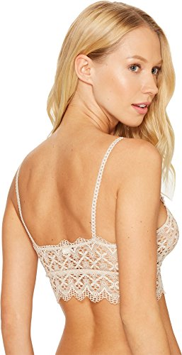 Only Hearts-Italian Eco Lace Crop Cami Bralette Natural Bra